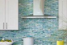 Great Tile Ideas / Trends in tile come and go- what would you expect from a building product that dates back to 13th Century BC.  Please enjoy this collection of tile inspiration that I have put together.  Visit this board when you are putting starting to design your new custom modular home!  #tile  #custommodularhomes