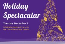 Deck the Union Halls / Ten days of merriness at LSU Student Union