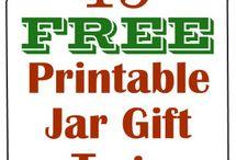 Jar - printables