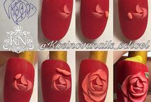 Гель 3D/лепка на ногтях
