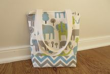 New! Zippered Lunch Tote! / by Ooh Baby
