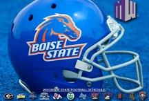 BSU football / I bleed Boise State blue.   / by Roddlee Watson