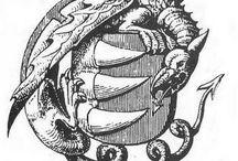 Sárkány címerben és  a Sárkány-rend / dragons