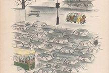 Sempe 1957-Comment on attrape un rhume à Paris.