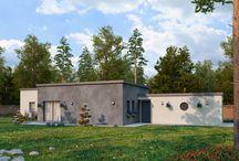 Modèles de Maisons / Un projet de construction de maison ? Voici des modèles pour trouver l'inspiration.