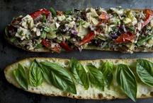 Recetas - Sandwiches .. Paninis.. / Panes diversos,  dos rebanadas ¿ o mas..? .. depende !!, rellenos sorprendentes, variados y deliciosos aderezos ...
