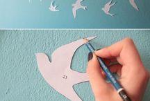 decoração em papel