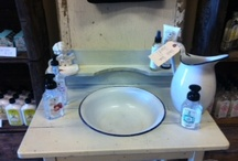 Look & Feel / Design elements that pull together Apothecary Off Main as one complete show stopper!