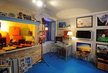 foto festival - studio Rovinj / come in anytime for coffee and conversation about photography