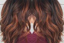 Frisur/Haarfarbe
