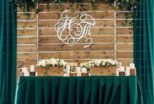свадьба изумруд