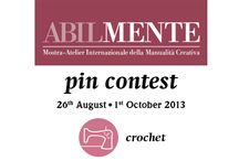PIN CONTEST - CROCHET / Board dedicated to all the CREATIVE BLOGGERS who want to partecipate to the ABILMENTE Pin Contest! To be invited to pin, click follow! Pin your creation after have pasted on your blog the Pin Contest banner that you find on: www.abilmente.org. The WINNER will be selected by SIMPLY CROCHET and it will receive a free subscription to it + 1 Coats Cucirini KIT! See the rules on www.abilmente.org If you do not receive the invitation write to: abilmente@vicenzafiera.it