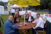 #CrabbiesTime at The Liverpool Hope International Tennis Tournament