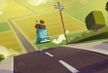 Illustrationer miljø