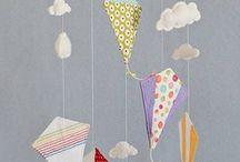 Baby Mobile ( kites)