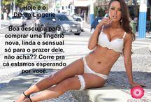 Campanha Ferlucci Moda Íntima / Make-up Saionara Duarte