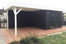Tuinhuis met veranda / Tuinhuis