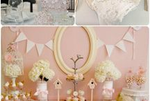 It's A Girl - Baby Shower Ideas / Ideas for a baby shower for a girl / by Frances Crocram