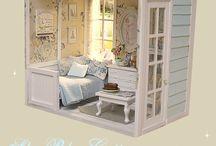 Miniature boxes / Dioramas y escenas en miniatura / by Dione Cabrera