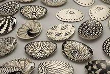 zentangle ceramics