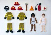 Fiete Quiet Book Fire Station