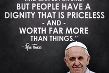 POPE FRANCIS MY DUDE / by Kirsten Baska