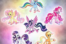 Pony rainbowfied