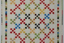 Quilt Nine-Patch/Four Patch/Irish Chains / My two faves with lots of interesting variations
