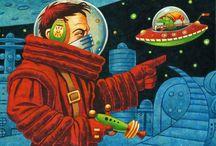 Art | Sci Fi / Wall art featuring Sci Fi by artists on Imagekind.