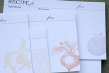 ladybug press / our letterpress work!