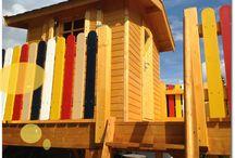 Wolff´s Blockhaus - Kinderspielhaus auf Stelzen
