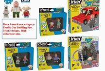 Knex Launch new catagory-Family Guy Building Sets
