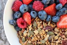 Ernährung - Nutrition / gesunde und weniger gesunde Rezepte healthy and less healthy recipes