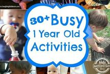 I year old Activities