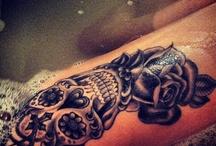 Tattoo-skulls/bones etc.