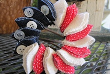 Patriotic Pins / patriotic crafts, clothing, and recipes perfect for the 4th of July & Memorial Day