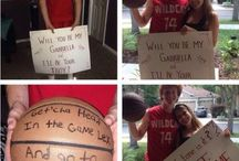 homecomming basktball proposals for girls / He