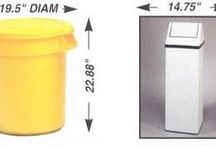 How to measure for the correct size of garbage bag!