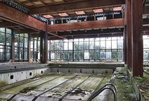 Abandoned - Swimming pools