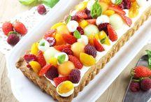 TARTE FRUITS MOUSSES AU CHOCOLAT