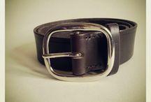 Leather Belts - Handstitched / Leather Belts - Handstitched