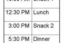 healthy eating schedule