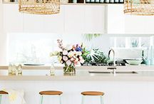 Gorgeous Kitchens / Beautiful kitchen spaces that we love. Fit for baking your own cakes or serving ours!