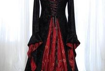 Vestidos / Vestidos medievais e/ou celtas