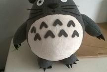 Totoro / Hand made, anima