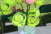 Tennis / flower balls ; -)