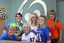 The Office / We love our jobs!  Office culture makes a difference!  We're having fun at work, maintaining great, upbeat attitudes and providing a great service to our community.  We love working for MultiCare Home Health & Personal Care Services!  www.multicareinc.com