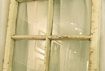 Old windows - Gamle vinduer - Gamlir gluggar