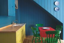 Colour in the kitchen / Be as bold as you dare!