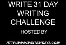 Write 31 Days Challenge 2015 / Writing challenge for October